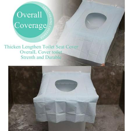 10pcs Disposable Toilet Seat Covers Flushable Toilet Seat