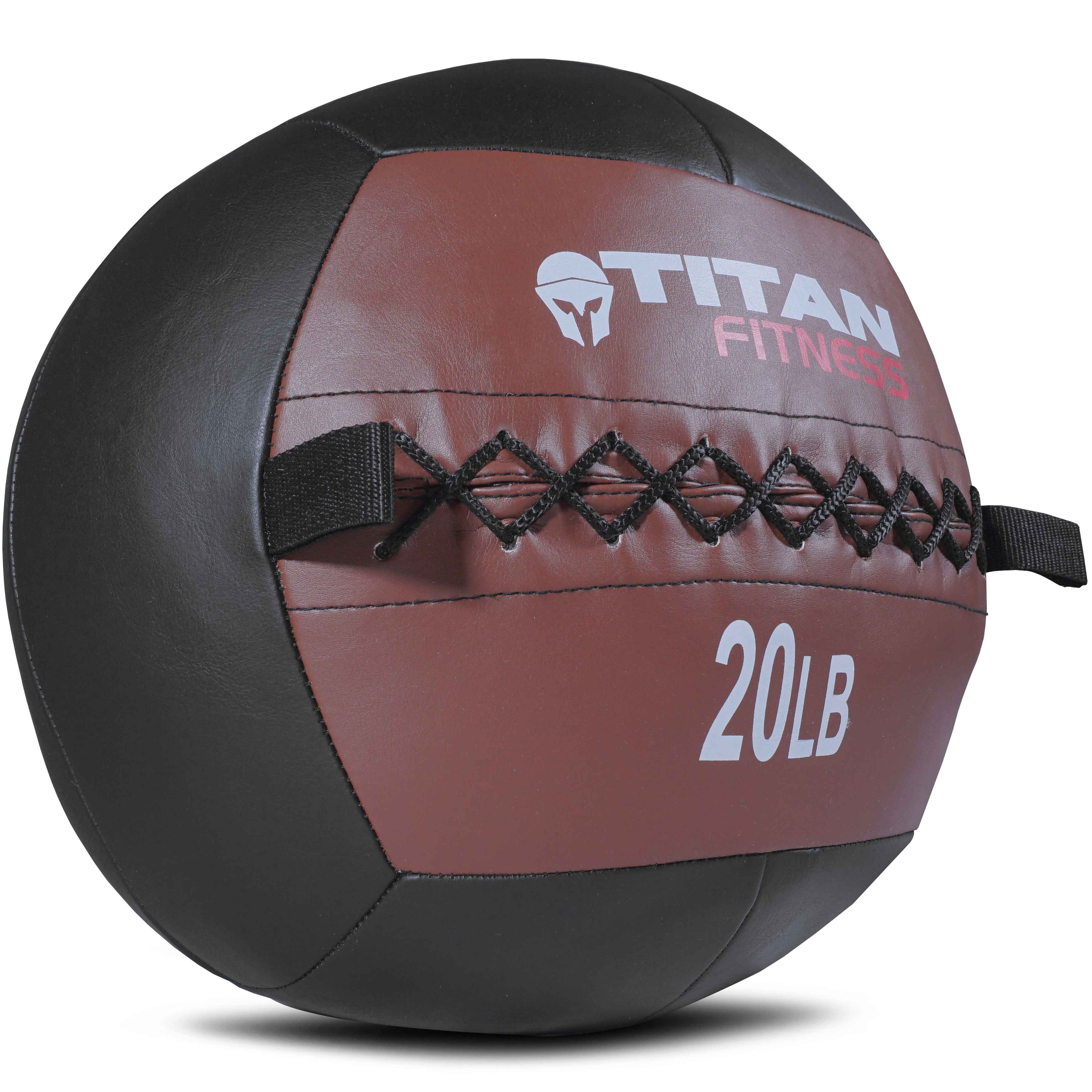 Titan 20 lb Wall Medicine Ball