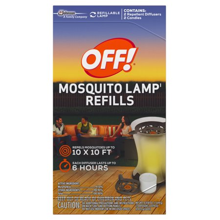 OFF! Mosquito Lamp Refills, 0.058 oz, 2 ct