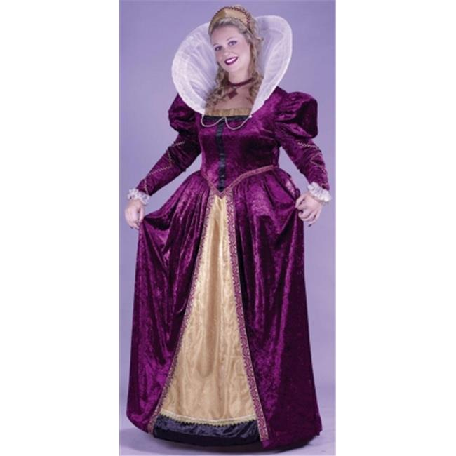 Costumes For All Occasions Fw5742 Elizabethan Queen Plus Sz