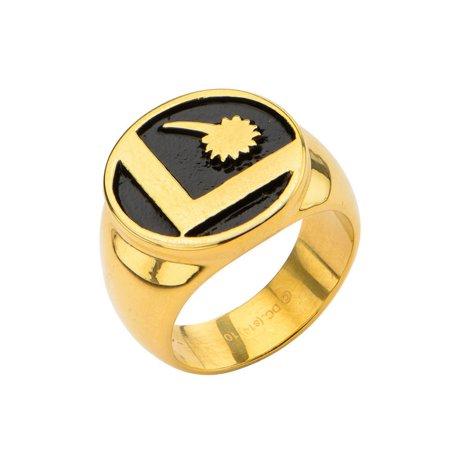 DC Comics Legion Of Superheroes Logo Ring | 9