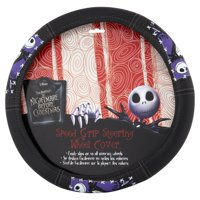 product image nightmare before christmas graveyard steering wheel cover