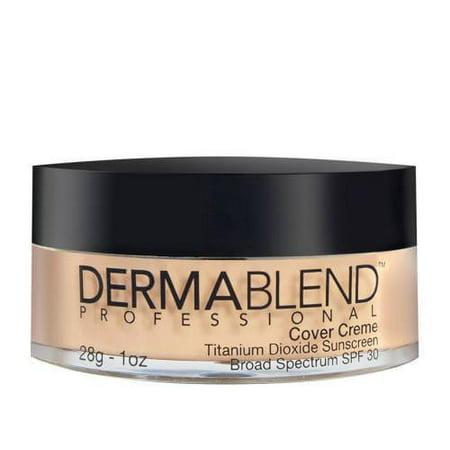 Dermablend Cover Creme Foundation Makeup SPF 30 for All-day NATURAL (Dermablend Beige Natural Foundation)