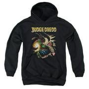 Judge Dredd Blast Away Big Boys Pullover Hoodie