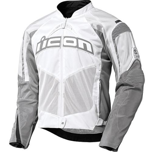 Icon Contra Textile Jacket White