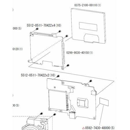 Nikon Coolpix L11 LCD PANEL 0375-2100-00110 REPLACEMENT