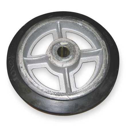 Wesco 150596 Wheel 10X2 1 2 In Mold On Rubber