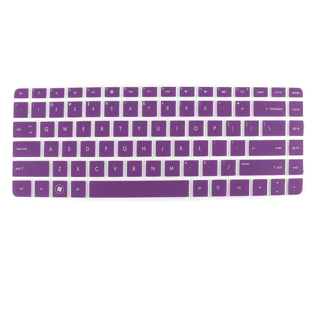 Purple Silicone PC Laptop Keyboard Protector Film for HP G4 CQ43 431 430 DV4