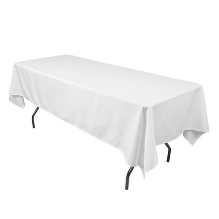 10 pcs Polyester Rectangle Tablecloth for Home, Party, Wedding or Restaurant](Wedding Tablecloths)