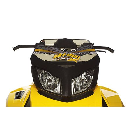 - Ski-Doo New OEM Smoke Tint Low Windshield REV-XR, REV-XU Tundra, MX-Z Windscreen