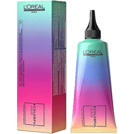 Loreal Colorful Hair Semi-Permanent Hair Color Caribbean Blue Direct Dye 3 Ounce 90 Milliliters - Caribbean Blue Color