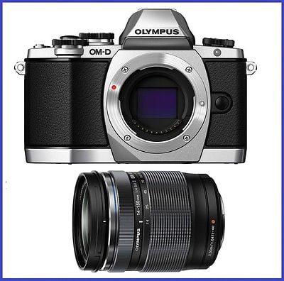 Olympus OM-D E-M10 Silver Digital Camera w  M.Zuiko ED 14-150mm f 4-5.6 II Lens by Olympus
