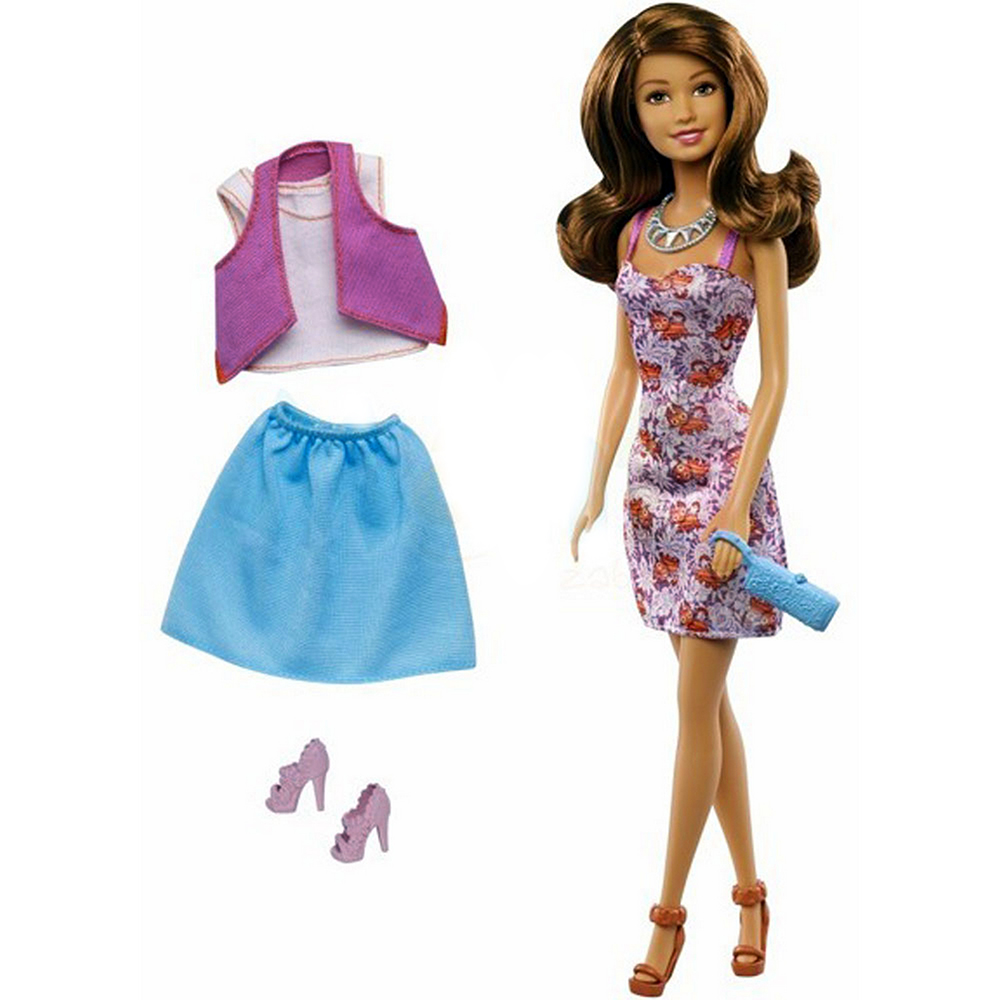 Barbie Doll Teresa Brunette Fashion Creations Blitz Gift Set