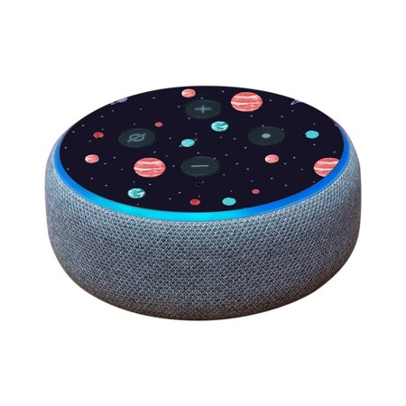 Skin For Amazon Echo Dot (3rd Gen) - Bright Night Sky   MightySkins Protective, Durable, and Unique Vinyl Decal wrap cover   Easy To Apply, Remove, and Change