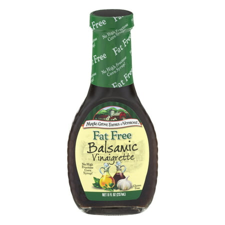 Maple Grove Farms Of Vermont Fat Free Balsamic Vinaigrette, 8.0 FL OZ