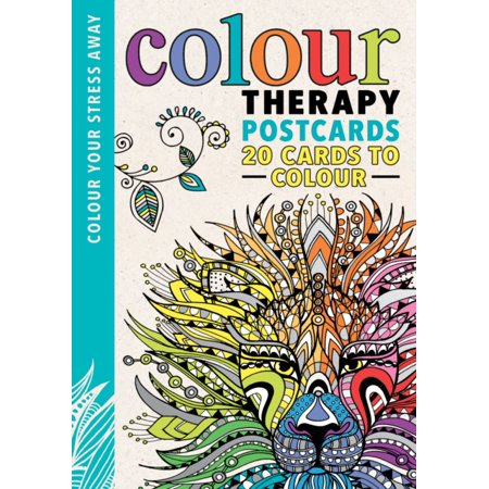 Colour Therapy Postcards (Colour Your Stress Away) (Cards)