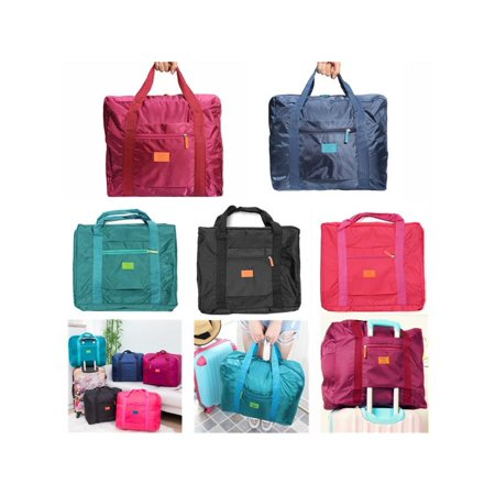 5 Colors Foldable Luggage Bag Handbag Clothes Storage Storage & Organization Organizer Carry-On Duffel Bag for Travel Sports Outdoor