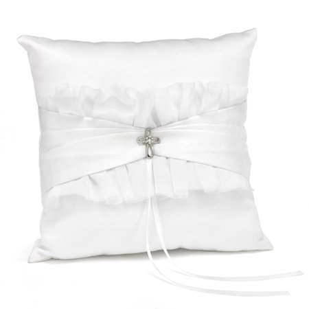 Faith & Love Ring Pillow - Perfect Wedding Gift