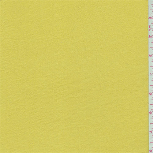 Bright Yellow Gauze, Fabric By the Yard