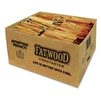 Betterwood Products 9987 Natural Pine Hand Split Fatwood 35 Pound Firestarter