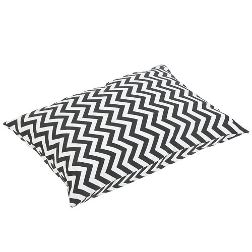 Latitude Run Altieri Knife Edge Indoor Outdoor Floor Pillow by