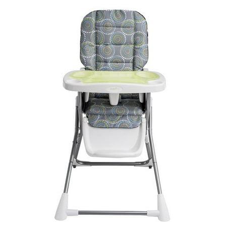 Evenflo Compact Fold High Chair Galaxy Walmart Com