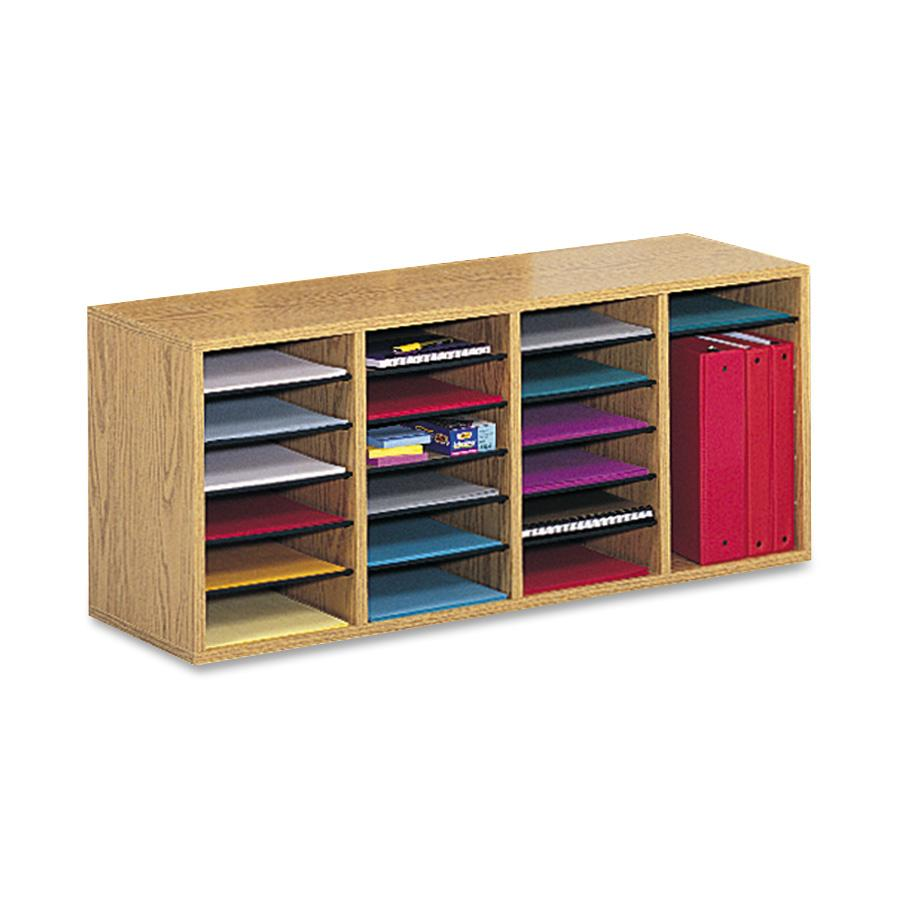 Safco Adjustable Shelves Literature Organizers by Safco Products