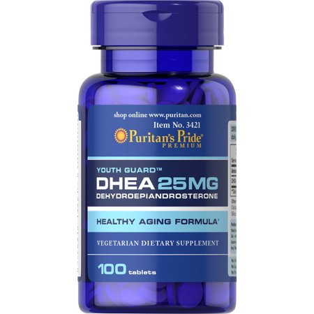 Puritan's Pride DHEA 25 mg 100 Tablets FREE