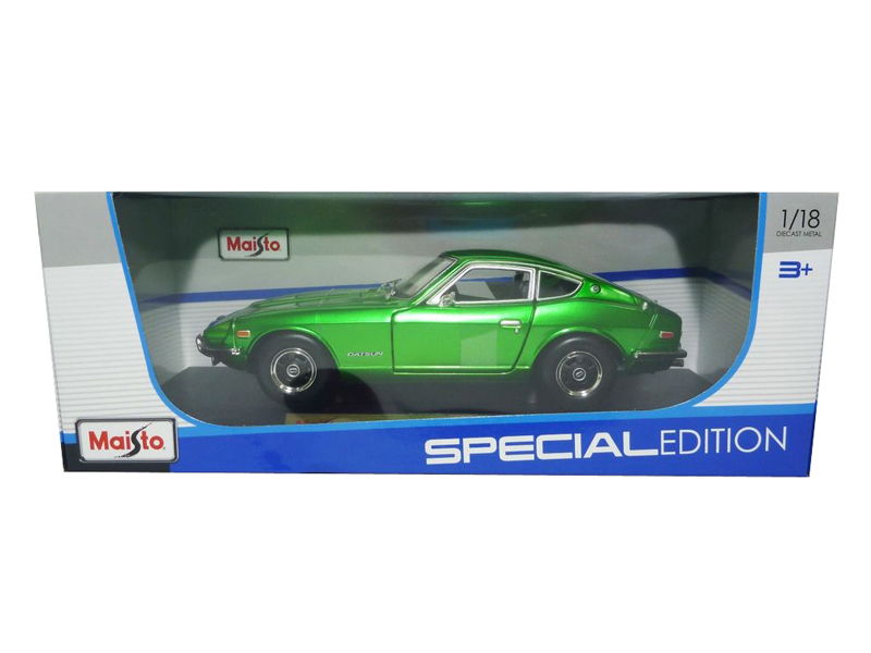 1971 Datsun 240z Green 1 18 Diecast Model Car by Maisto by Maisto