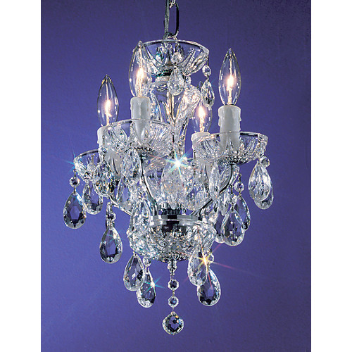 Classic Lighting Daniele 4 Light Mini-Chandelier