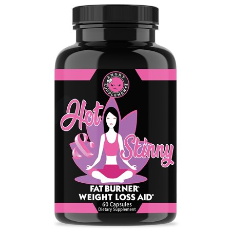 Angry Supplements Hot & Skinny Thermogenic Diet Aid (60 Count)