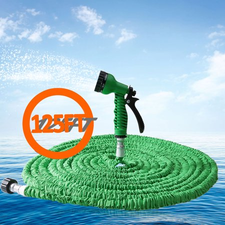 RY - 951 125FT 7 Modes Expandable Garden Water Hose Pipe with Spray