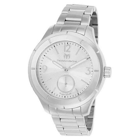 MoonSun Silver Dial Mens Watch 117029 ()