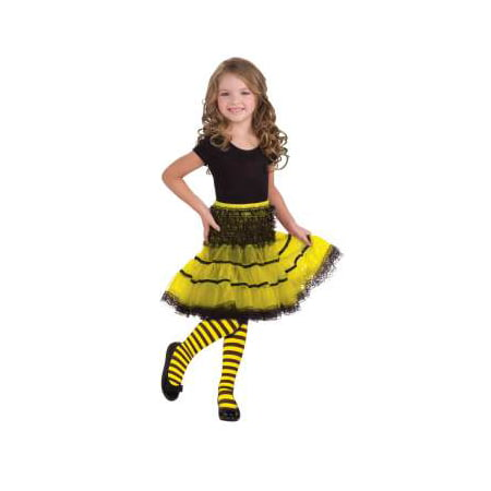 CHILD BUMBLE BEE TIGHTS-SMALL