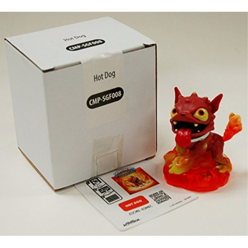 Skylanders Giants HOT DOG Figure & Code