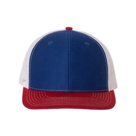 Richardson. Royal/ White/ Red. Adjustable. 112. 00739845898502 - image 1 de 1