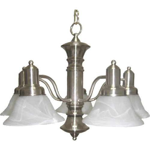 Alcott Hill Harrold 5-Light Shaded Chandelier