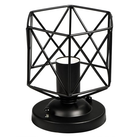 HERCHR Wall Lamp Holder, E26 Vintage Style Ceiling Light Unique Geometric Shape House Hotel Cafe Decorative Lamp Holder, Wall Light Holder, E26 Wall Lamp Holder