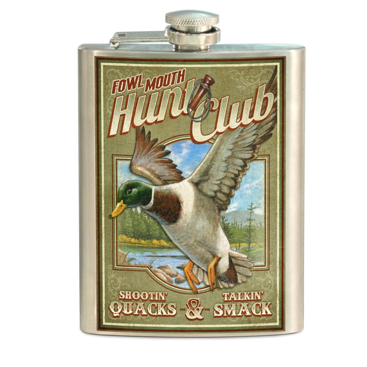 American Expedition Vintage Sign Flask - Mallard