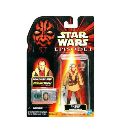 Star Wars: Episode 1 Ric Olie Action Figure - Star Wars Characters Episode 7