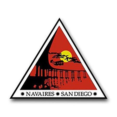US Navy Naval Air Station North Island, San Diego Decal Sticker 5.5