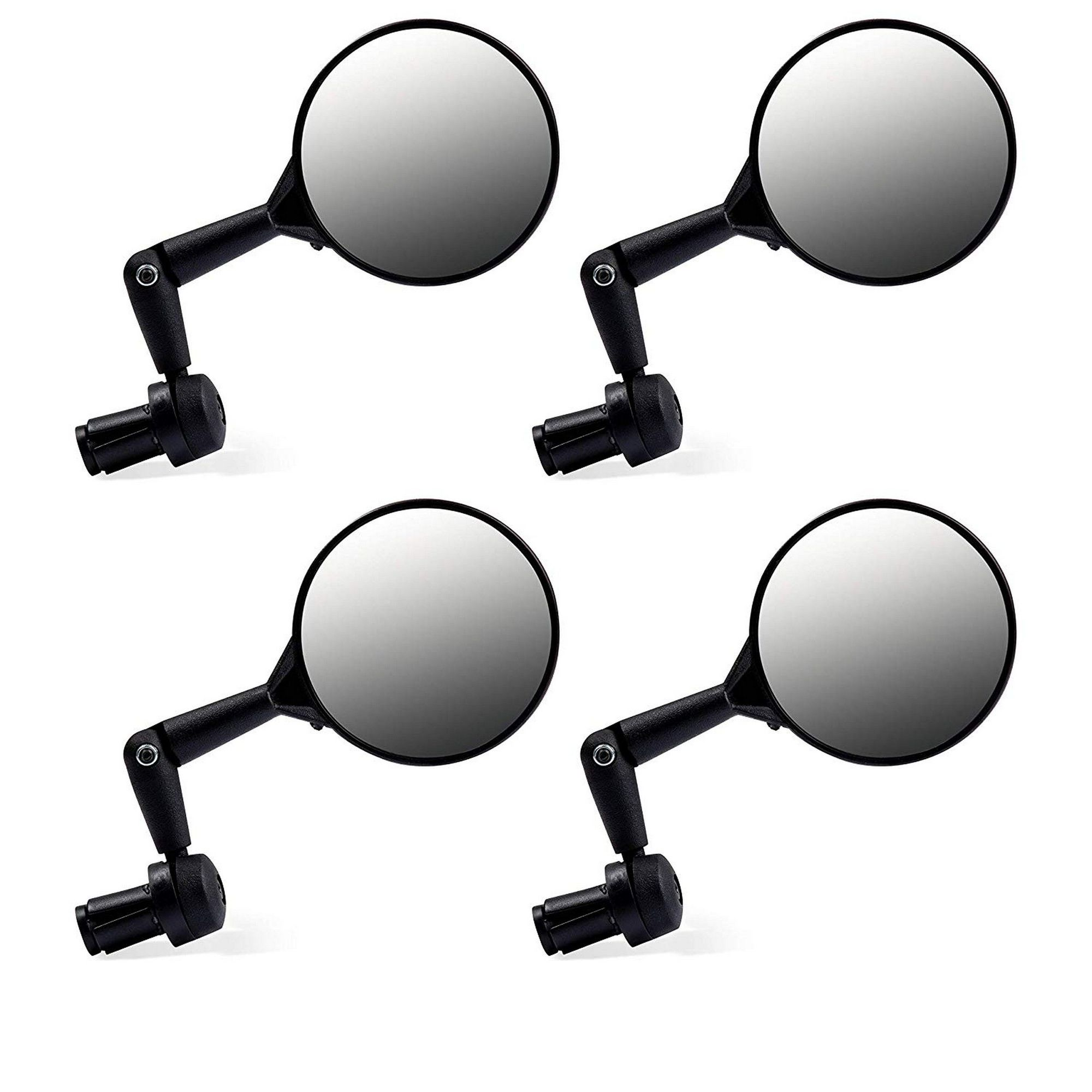 360 Degree Rotate Juvale Bicycle Mirrors 4-Pack Cycling Mountain Bike Mirrors