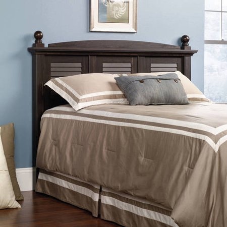 Sauder Harbor View Full/Queen Headboard, Antiqued Paint Finish