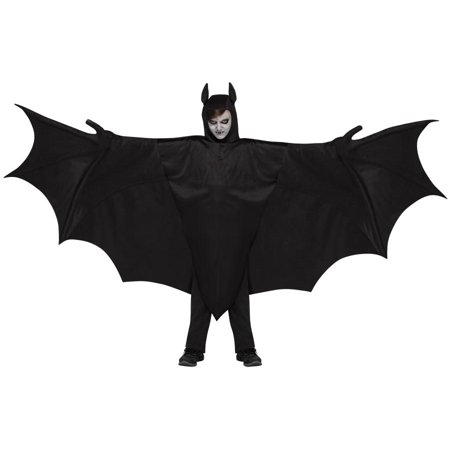 Wicked Wing Bat Child Halloween Costume, One Size, Up to - Bat Costume Kids