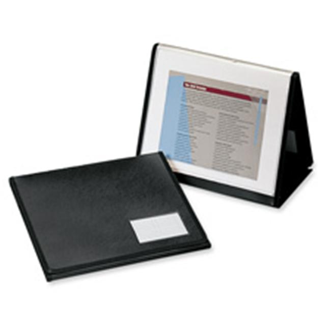 Cardinal Brands- Inc CRD52132 20 Pocket Easel Showfile- Horizontal- 11inchx8-. 50inch- Black