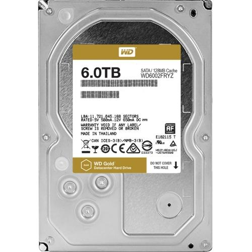 Western Digital Gold 6TB high-capacity datacenter hard drive