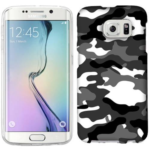 Mundaze Grey Camo Phone Case Cover for Samsung Galaxy S6 edge+