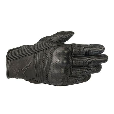 Alpinestars Mustang v2 Leather Gloves Black/Black (Alpinestars Gloves Xl)