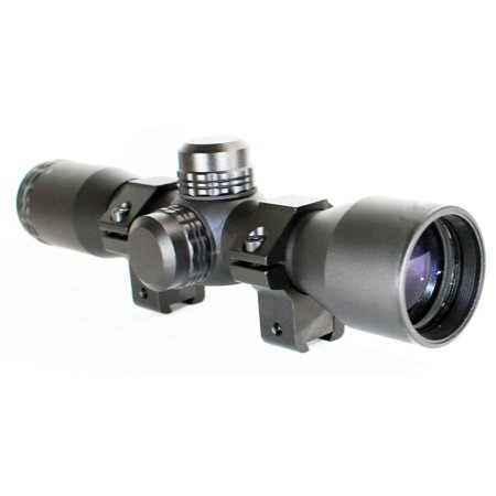 Trinity Rail - TRINITY 4X32 Hunting Scope With Mil-Dot Reticle For ATI TAC PX2 Dovetail rail system.