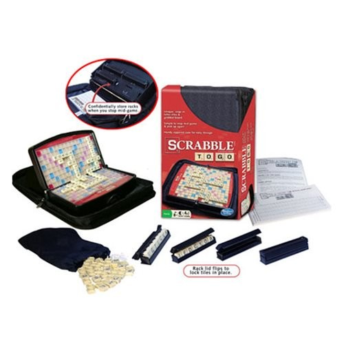 Scrabble To Go Game (Number of Pieces per case: 4) by